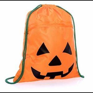Pumpkin Cinch Sack